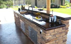 how to make an outdoor concrete countertop amazing home artistic outdoor kitchen in best compared specialty