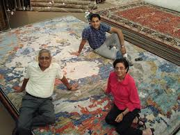 we are deeply involved in designing developing and producing our own rugs with the result that our customers get the latest styles and colors much before