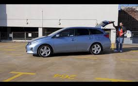 ENG) Toyota Auris Touring Sports - Test Drive and Review - YouTube