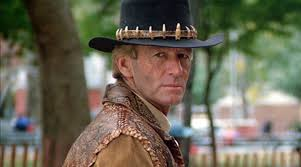 Paul hogan, am, is an australian actor, comedian, film producer, television presenter and writer. Iconic Crocodile Dundee Paul Hogan Turns 81 Today Pop Expresso