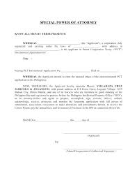Letter For Power Of Attorney Power Of Attorney Letter Example Sample Writing A Uk