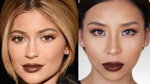 kylie jenner fall makeup tutorial great for hooded or asian eyes lets learn
