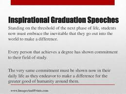 inspirational graduation speeches imagesandprints com 3 inspirational graduation speechesstanding