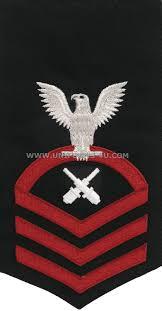 U S Navy Gunners Mate Gm Rating Badge