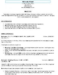 Awesome Sample Bartender Resume To Use As Bartender Resume
