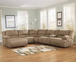 signature design by ashley hogan mocha 6 piece sectional sofa group item number