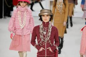 chanel 2017. models present creations by german designer karl lagerfeld as part of his fall/winter 2016/2017 women\u0027s ready-to-wear collection for fashion house chanel at 2017 o