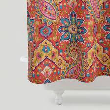 phoebe paisley shower curtain world market 23 99 duvet cover