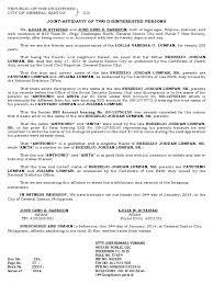 Affidavit Format For Name Correction Image Gallery Hcpr