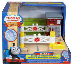 Fisher Price Wooden Railroad Maron Lights Sounds Signal Shed Fisher Price Thomas Friends Wooden Railway Deluxe