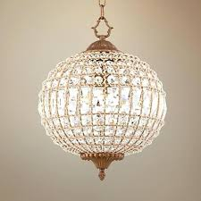 pendant light gold round chandelier ceiling lighting globe crystal flush mount chandelier crystal globe chandelier bring