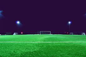 grass soccer field with goal. Wonderful Goal Grass Structure Field Night Lawn Soccer Football Stadium Goal Baseball  Arena Ball Artificial Turf In Grass Soccer Field With Goal