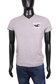 Hollister Shirt Size Chart Details About Hollister Mens T Shirt V Neck Tee Grey Size S