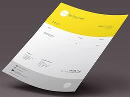 35 Striking Invoice Designs Web Graphic Design Bashooka