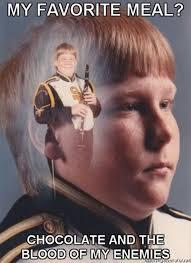 African Kid Meme Template - ptsd clarinet boy know your meme Meme ... via Relatably.com