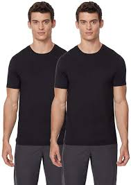 32 Degrees Heat Size Chart Cool Mens 2 Pack Short Sleeve Crew Neck