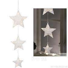 Matches21 Led Fensterbild Sternen Kette Fensterdeko Zum
