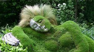Small Picture grass sculpture of beautiful gardens YouTube