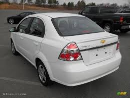 Summit White 2011 Chevrolet Aveo LT Sedan Exterior Photo #46062231 ...