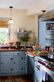blue country kitchens. 10 Beautiful Blue Kitchen Decorating Ideas - Best Paints For Your Country Kitchens E