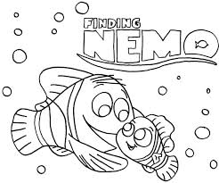 Finding Nemo Coloring Pages To Print Pdf Printable Colouring Fresh