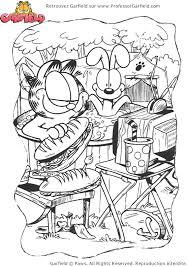 Coloriage Garfield Sur Hugolescargot Com