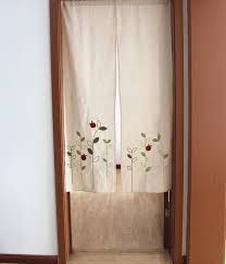 ZHH Left And Right Biparting Open Modern minimalist japanese door curtain  Summer mosquito repelling High cloth