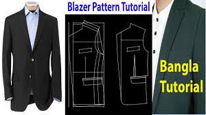 How To Design A Coat Blazer Pattern Tutorial How To Make Blazer Suit Pattern L Coat Pattern Design Bok Software