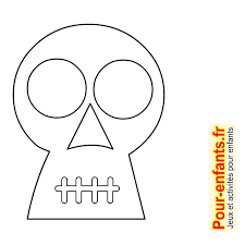 Dessins T Te De Mort Dessin Coloriage Tete De Mort Halloween
