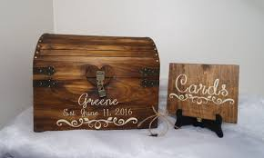 rustic wooden wedding card chest with card slot, personalized Wedding Card Holder Chest rustic wooden wedding card chest with card slot, personalized wedding card box, wedding anniversary gift, x large keepsake chest, card chest treasure chest wedding card holder