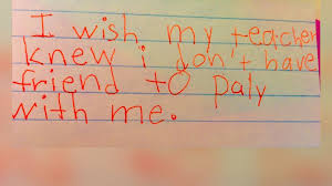 i wish iwish i wish my teacher knew