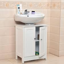 bathroom sink furniture. Undersink Bathroom Cabinet Cupboard Vanity Unit Under Sink Basin Storage Wood Furniture \