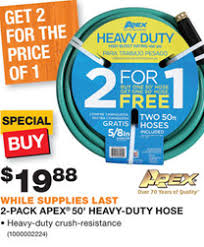 garden hoses at home depot. Fine Garden Home Depot Has A Secret Deal On Their Website Grab TWO 50u0027 APEX Heavy Duty Garden  Hoses For 1988 944 Per Hose To Locate This Offer Youu0027ll Need Go  Throughout Garden Hoses At