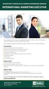careers qualitea ceylon pvt marketing