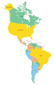 continent of america map. Perfect Continent Continent Of America Map  Inside Map I