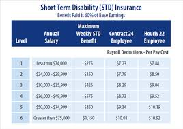 Short Term Disability Benefits Employee Disability Insurance Short Term And
