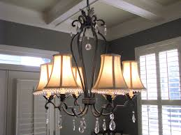 top dining room chandeliers with shades with wrought iron chandelier with shades and crystals in our