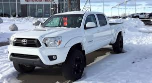 Lifted 2012 Toyota Tacoma TRD Sport on 265/70R17 Tires - YouTube