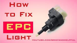 Volkswagen Passat Epc Warning Light How To Fix Epc Light