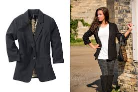 where do you see yourself in years apparel women s blazer meijer style