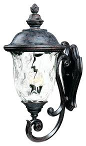 outdoor lighting carriage lights solar wall mount