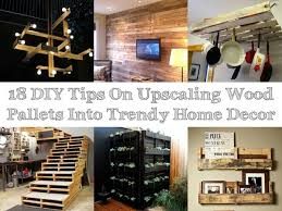 diy home decor ideas with pallets. 18 diy tips on upscaling wood pallets into trendy home decor diy ideas with p
