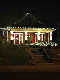 christmas lights on houses. Perfect Lights 16th 14th Eastland Christmas Lights  With Lights On Houses E