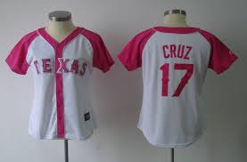 By Athletic 17 Cruz Kids Texas Majestic Jerseys Splash Chinese Free mlb Pink Mlb Womens Fashion Jerseys Collection Shipping Rangers Jersey Cheap