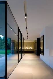 recessed ceiling lighting ideas. Contemporary Minimalist House Clean Lines And Elegant Lighting By Kreon _ Recessed Ceiling Ideas