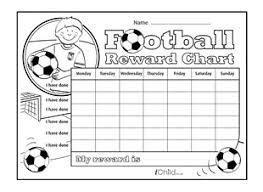 Marvel Reward Chart Printable Football Reward Chart Ichild