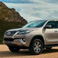 <b>Защита штатного порога d57</b> на Toyota Fortuner 2017- купить в ...