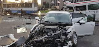 8 killed, 15 injured in horrific car crash in Kryviy Rih | KyivPost ...