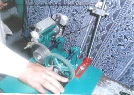manual i table fan coil winding machine model 798