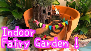diy indoor fairy garden